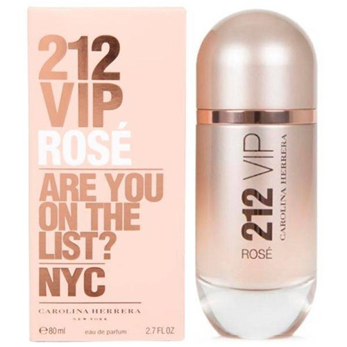 Perfume Carolina Herrera 212 Vip Rosé Eau de Parfum Feminino 80 Ml