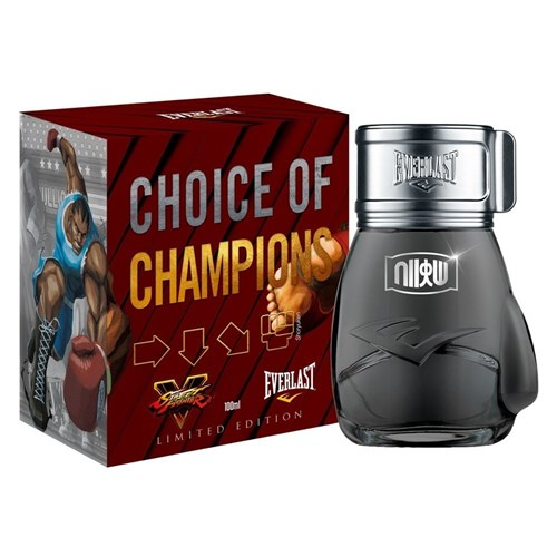 Perfume Choice Of Champions Street Fighter Shoryuken - Everlast - Masc... (100 ML)