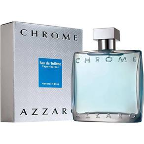 Perfume Chrome Masculino Eau de Toilette 50ml – Azzaro