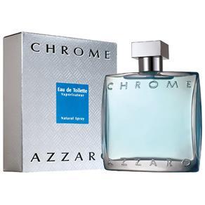 Perfume Chrome Masculino Eau de Toilette – Azzaro - 30ml