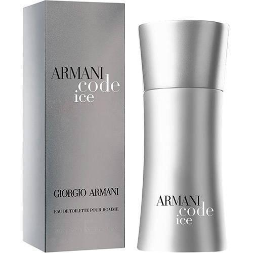 Perfume Code Ice Giorgio Armani Masculino Eau de Toilette 75ml