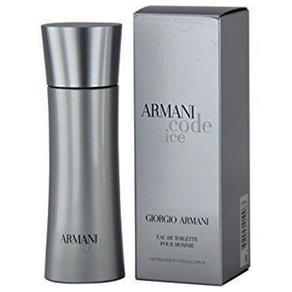 Perfume Code Ice Masculino Eau de Toilette 50ml - Giorgio Armani