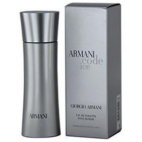 Perfume Code Ice Masculino Eau de Toilette 75ml - Giorgio Armani