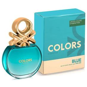 Perfume Color Blue Feminino Eau de Toilette - Benetton - 80 Ml