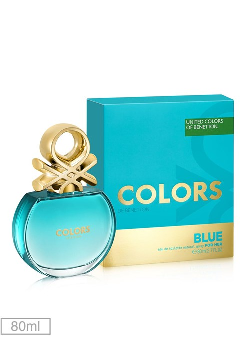 Perfume Colors Blue Her 80ml