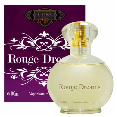 Perfume Cuba Rouge Dreams Feminino Eau de Parfum 100 Ml