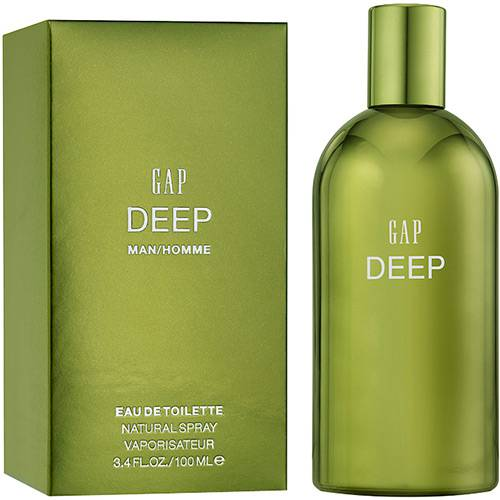 Tudo sobre 'Perfume Deep Homme Masculino Eau de Toilette 100ml - Gap'