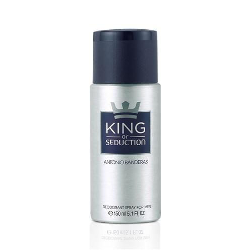 Perfume Desodorante Spray Antonio Bandeiras King Of Sedution 150ml