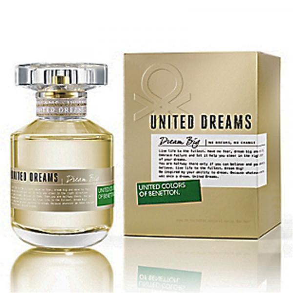 Perfume Dream Big Feminino Eau de Toilette 80ml - Benetton