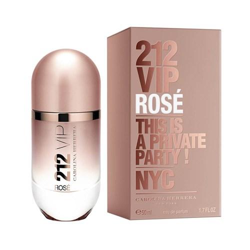 Perfume EDP Carolina Herrera 212 Vip Rose 50ml