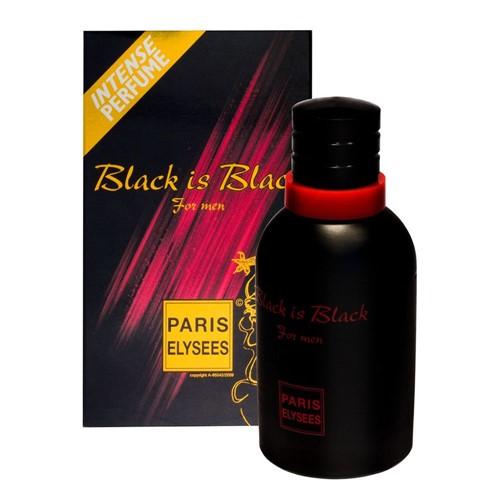 Perfume EDT Paris Elysees Masculino Black Is Black 100ml