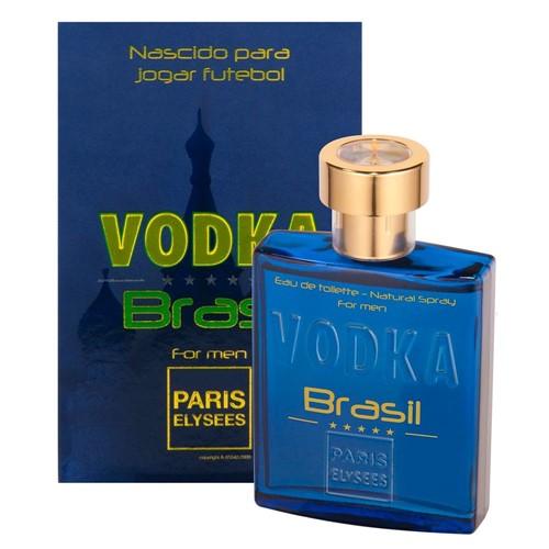 Perfume EDT Paris Elysees Masculino Vodka Brasil 100ml