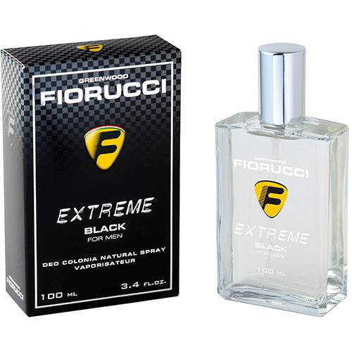 Tudo sobre 'Perfume Extreme Black Fiorucci Masculino Deo Colônia 100ml'
