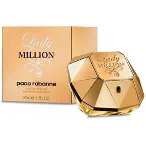 Perfume Fem Lady Million Paco Rabanne Eau de Parfum 50ml