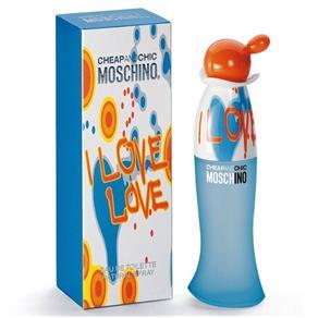 Perfume Fem Moschino I Love Love Eau de Toilette 100ml