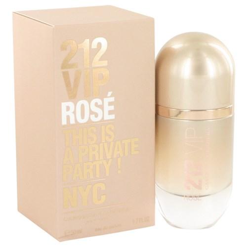 Perfume Feminino 212 Vip Rose Carolina Herrera 50 Ml Eau de Parfum