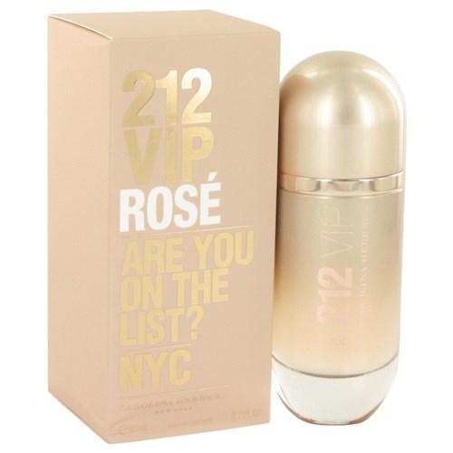 Perfume Feminino 212 Vip Rose Carolina Herrera 80 Ml Eau de Parfum