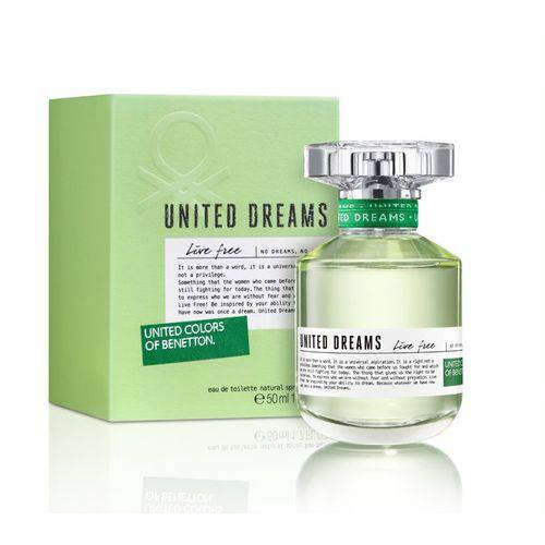Perfume Feminino Benetton United Dreams Live Free 50ml