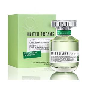 Perfume Feminino Benetton United Dreams Live Free 80ml