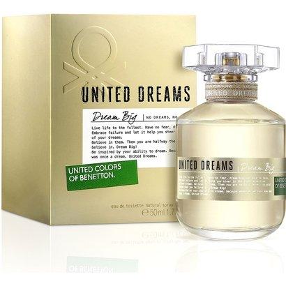 Perfume Feminino Dream Big Edition Benetton Eau de Toilette 50ml