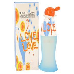 Perfume Feminino I Love Moschino Eau de Toilette - 100 Ml