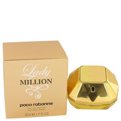 Perfume Feminino Lady Million Paco Rabanne 50 Ml Eau de Parfum