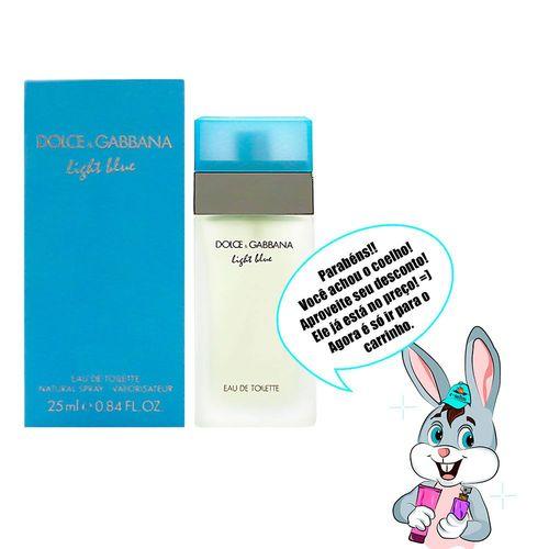 Perfume Feminino Light Blue Dolce & Gabbana Eau de Toilette - 25ml