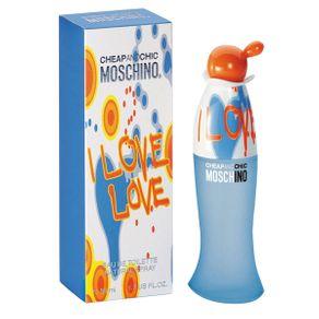 Perfume Feminino Moschino I Love Love Eau de Toilette 30ml Perfume Feminino Moschino I Love Love Eau de Toilette 50ml