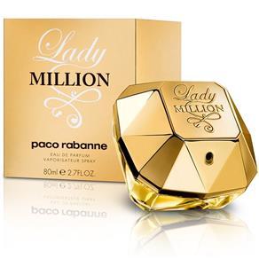 Perfume Feminino Paco Rabanne Lady Million EDP 80ml