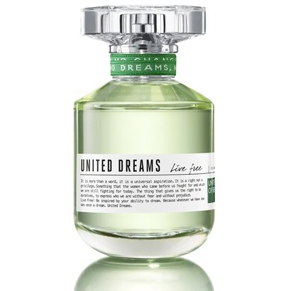 Perfume Feminino United Dreams Live Free Benetton Eau de Toilette 80ml