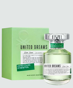 Perfume Feminino United Drems Live Free Benetton - Eau de Toilette 50ml