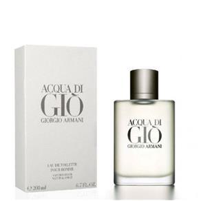 Perfume Giorgio Armani Acqua Di Giò Masculino Eau de Toilette - 200 Ml