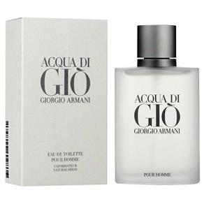 Perfume Giorgio Armani Acqua Di Gio Pour Homme Eau de Toiletti Masculino
