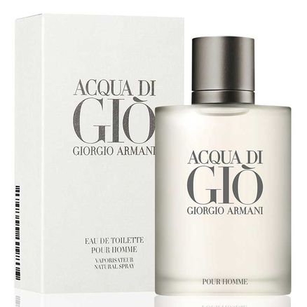 Perfume Giorgio Armani Acqua Di Giò Pour Homme Masculino Eau de Toilette 50ml