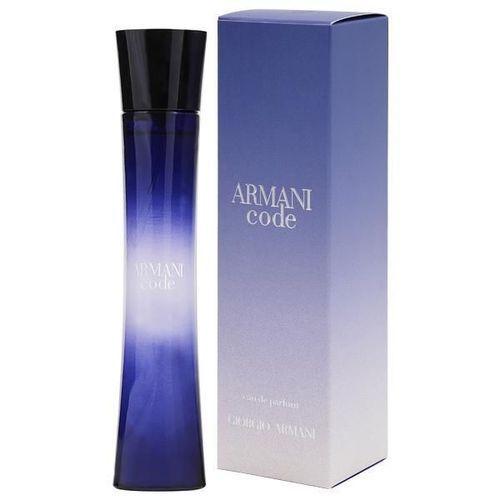 Perfume Giorgio Armani Code Eau de Parfum Feminino 75 Ml