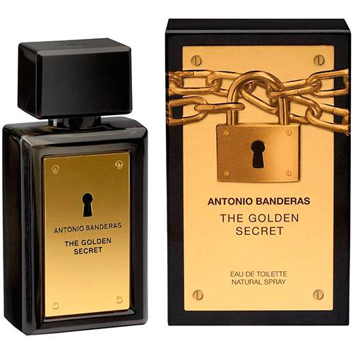 Perfume Golden Secret Antonio Banderas - 30ml