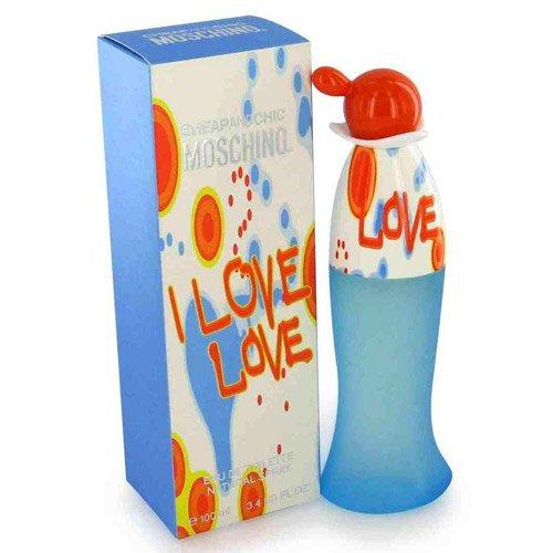 Perfume I Love Love Moschino Eau de Toilette Feminino 100 Ml