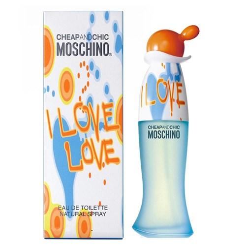 Perfume I Love Love Moschino Edt Feminino - 100Ml