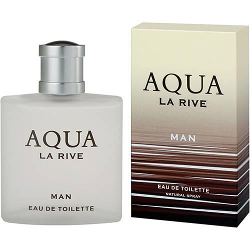 Perfume La Rive Aqua Masculino Eau de Toilette 90ml