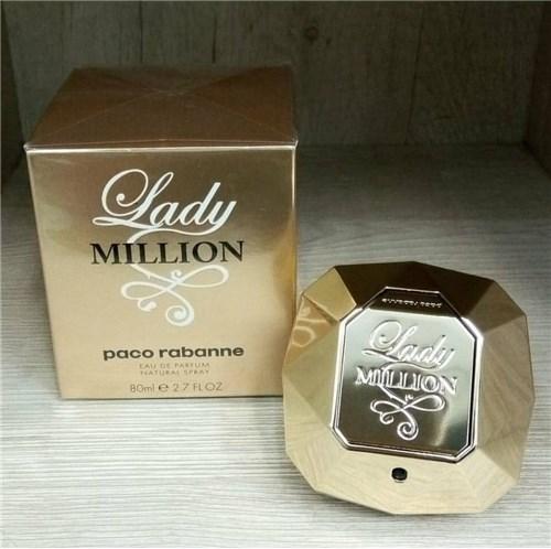 Perfume Lady Million Feminino Eau de Parfum 80Ml Paco Rabanne (80ml)