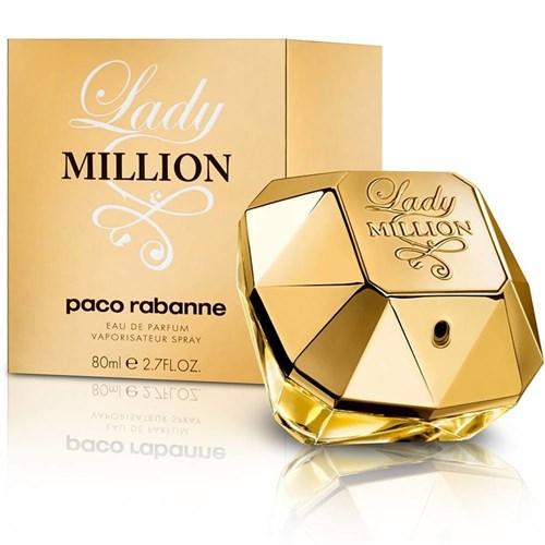 Perfume Lady Million Paco Rabanne Eau de Parfum 80 Ml