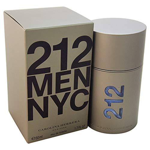 Perfume Masculino 212 Men Carolina Herrera Eau de Toilette 50 Ml