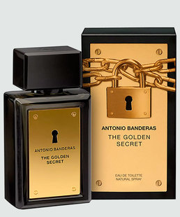 Perfume Masculino Antonio Banderas The Golden Secret - Eau de Toilette 30ml