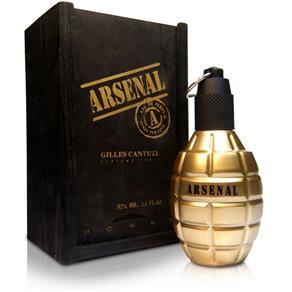 Perfume Masculino Arsenal Gold de Gilles Cantuel Eau de Parfum - 100 Ml