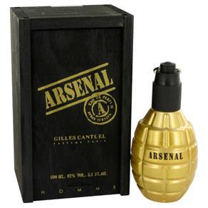 Perfume Masculino Arsenal Gold Gilles Cantuel 100 Ml Eau de Parfum