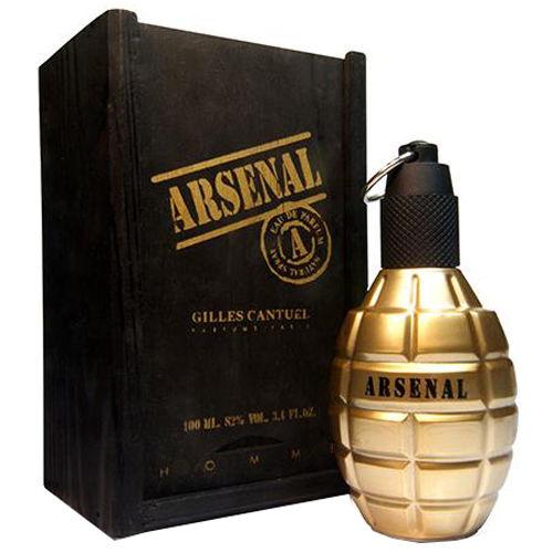 Perfume Masculino Arsenal Gold Gilles Cantuel Eau de Parfum 100ml