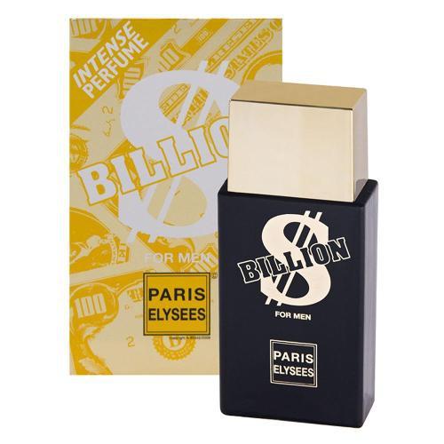 Perfume Masculino Billion Paris Elysees Eau D Toilette 100ml