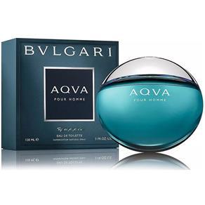 Perfume Masculino Bvlgari Aqva Pour Homme Eau de Toilette - 150 Ml