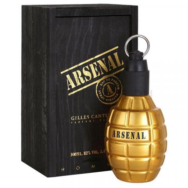 Perfume Masculino Gilles Cantuel Arsenal Gold Eau de Parfum 100ml