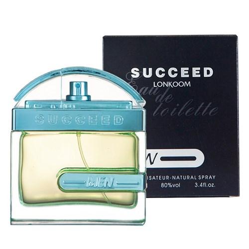 Perfume Masculino Lonkoom Succeed Edt - 100Ml